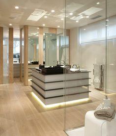 molinsinteriors // Interioristas Barcelona - interiorismo doméstico - vivienda urbana - baño suite