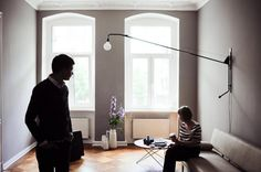 lovelovelove that lamp -- from Freunde von Freunden (FvF). Photography by Ailine Liefeld.