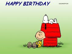 Charlie Brown And Snoopy Show Cyberbargins Birthday Ecards