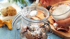 Nakládání hub do soli Peanut Butter, Food, Essen, Yemek, Meals