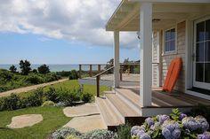 Beach house deck and porch. #Beachhousedeck #Beachhouseporch. Sullivan + Associates Architects