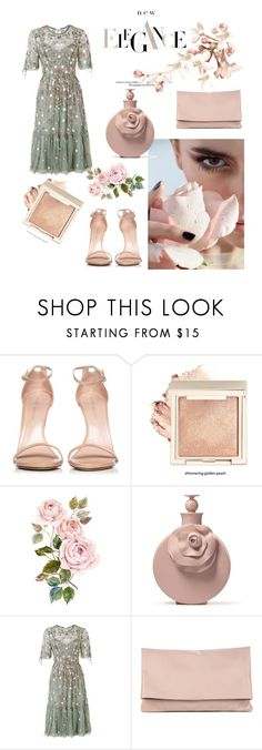 """Elegance"" by emina-la ❤ liked on Polyvore featuring Stuart Weitzman, Needle & Thread and Sole Society"