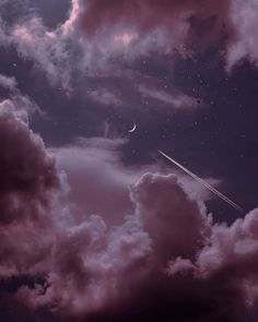 we took the midnight plane and traveled to the moon. Moon And Stars Wallpaper, Pink Clouds Wallpaper, Night Sky Wallpaper, Star Wallpaper, Scenery Wallpaper, Iphone Background Wallpaper, Aesthetic Pastel Wallpaper, Aesthetic Backgrounds, Galaxy Wallpaper