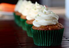 Carrot Cheesecake Cupcakes by Your Cup of Cake