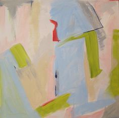 "abstract acrylic on 20 x 20 canvas by Kerry Steele ""Cake and eat it too"""