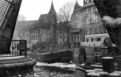 """Königsberg Pr. Schmiedebrücke, Dom und Gasthaus """"Zur Schmiedebrücke"""""""