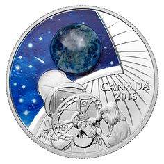 1 oz. Fine Silver Coin – The Universe: Glow-in-the-Dark Glass with Opal –…