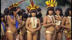 Xingu People from the Village of Yawalapiti - An indigenous tribe in the Amazonian Basin of Brazil - YouTube