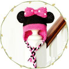 Esperançoso mel | Artesanato, Crochet, Criar: Minnie Mouse Inspirado Padrão Montantes do bebê Crochet