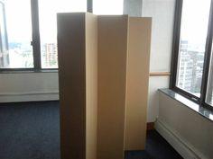 cardboard room dividers screens