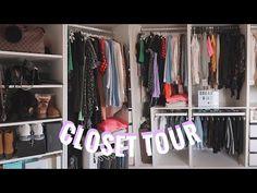 CLOSET TOUR - TOUR DELLA MIA CABINA ARMADIO 2020 | armadio IKEA | Giorgia Rossi - YouTube Closet Tour, Ikea Pax, Channel, Youtube, Home Decor, Decoration Home, Room Decor, Interior Decorating