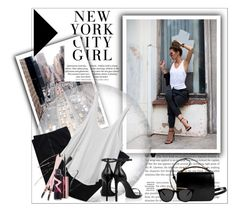 """""""New York City Girl"""" by deeyanago ❤ liked on Polyvore featuring Paul Frank, COSTUME NATIONAL, RVCA, Yves Saint Laurent, Givenchy, Smoke & Mirrors, GetTheLook, NYC and newyorkcitygirl"""