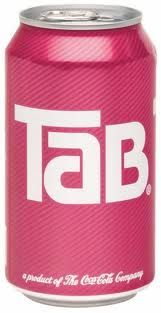 Tab! Drank so much Tab in high school that my mother hid the 12 pack in the basement and tried to ration it to me, putting just ONE in the fridge a day. Didn't work. Tried one a couple years ago for nostalgia's sake and couldn't believe that I used to drink it. YUCK!