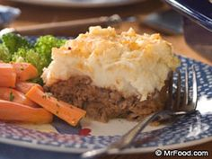 *Country Meat Loaf and Potato Casserole- *made: husband really liked it and easy to make (make both mashed potatoes & meatloaf separate from each other and then bake together for 25-30 mins)