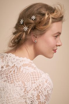 Elli Hair Pins from @BHLDN