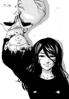 Tokyo Ghoul | Rize and Kaneki