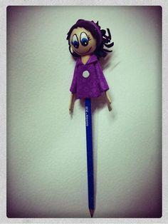 Pide Por Esa Boca: Fofucha pequeña para lápices
