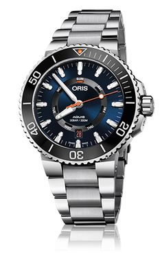 Dive into imminent warmer weather with a diver's watch from ORIS, now available at Marquis Jewelers. . . . . #oriswatches #summer2017 #diver