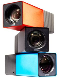 """Lytro Camera - Must have one day! """"A conventional camera that captures a single plane of light, the Lytro camera captures the entire light field, which is all the light traveling in every direction in every point in space."""""""