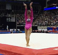 gymnastics somersaults reversed This is a rewind of a tumbling pass Gymnastics Fails, Gymnastics Tricks, Tumbling Gymnastics, Amazing Gymnastics, Gymnastics Quotes, Artistic Gymnastics, Rhythmic Gymnastics, Olympic Gymnastics, Cheerleading Quotes