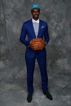 Noah Vonleh, Charlotte Hornets - The Cut Nba Fashion, Fashion Wear, Charlotte Basketball, Nba Draft, Charlotte Hornets, Basketball Teams, Nba Players, Nice Dresses, Menswear