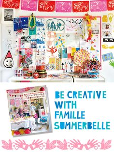 'Be Creative with Famille Summerbelle' -- an editions Paumes book