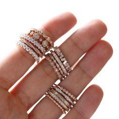c8cdd52dc Sarah O. Jewelry Diamond Stackers // Denver, Colorado Wedding Bands,  Wedding Tips