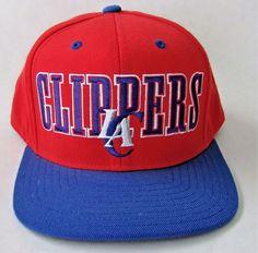 ADIDAS NBA LA Clippers Basketball Vintage 90 s Snapback Baseball Cap Hat  Griffin  Adidas  BaseballCap ee2c3fe732ff