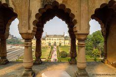 Facade, Exotic, Arch, Garden, Travel, Trips, India, Viajes, Longbow