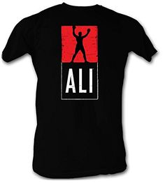 Muhammad Ali T-shirt Ali Logo Adult Black Tee Shirt Muhammad Ali Shirts Available in Small, Medium, Large, XL, Officially Licensed View our Xmas Shirts, Tee Shirts, Cool Tees, Cool Shirts, Awesome Shirts, Muhammad Ali Boxing, Boxing Shirts, Movie T Shirts, Branded T Shirts