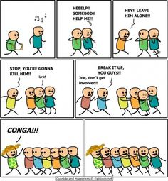 Cyanide and Happiness. oh, happy endings :)