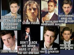 Well, gosh! I just got a collage full of motivation!!