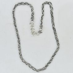 Beautiful silver chain Necklace 21/inch & Silver by DevmuktiJewels