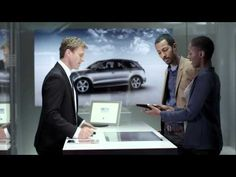 German automaker @Audi opens new touchscreen-based showroom just off London's Piccadilly Circus