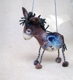Vladimir - Felted Donkey    Amazing!!!