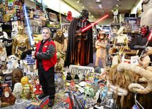 This man  is determined to bring Star Wars to real life. This collection alone feels like he has transported the fantastical elements of Star Wars into reality.