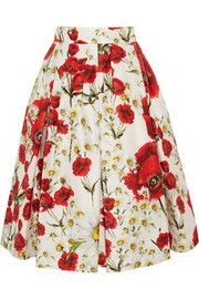#DolceandGabbana #Floral #skirt #GiftIdea #GiftResponsibly #GlamGifting