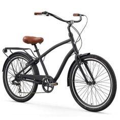 The Best 10 Men Comfort Bikes in 26 inch of 2018 for Sale are Mongoose Dolomite Men's Fat Tire Bike, sixthreezero EVRYjourney Men's Hybrid Cruiser Bicycle. Beach Cruiser Bikes, Cruiser Bicycle, Beach Cruisers, Mountain Bike Shoes, Mountain Biking, Road Bike Women, Bicycle Maintenance, Cool Bike Accessories, Bike Reviews