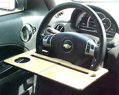 Car iPad - iPhone Stand / Laptop Desk / Steering Wheel Table op Etsy, 7,37€