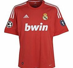 Real Madrid 3rd Shirt Adidas 2011-12 Real Madrid Adidas 3rd Football Shirt Brand new official Real Madrid 3rd Shirt to be worn in the 2011/12 La Liga season. This is the new Real Madrid European football kit which isrd in colour and are manufactured by Adidas and available  http://www.comparestoreprices.co.uk/football-shirts/real-madrid-3rd-shirt-adidas-2011-12-real-madrid-adidas-3rd-football-shirt.asp