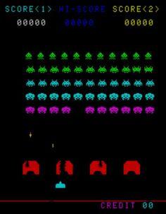space invaders #atari