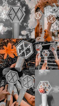 Lightstick Exo, Exo Chen, Kpop Exo, Exo Stickers, Mamamoo, Exo Music, L Wallpaper, Exo Anime, Exo Group