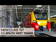 London New South West Trains Class 12 Aug 2016 South West Trains are… South West Trains, Train Vacations, Rolling Stock, New Class, New South, Locomotive, London England, About Uk, Track