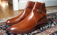 Crockett & Jones Quorn Jodhpur Boot Chestnut