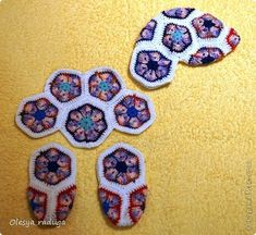Toy Master Class New Year Crochet MC of the horse with flower motifs African Threads Photo 9