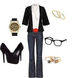 """""""Teacher Chic"""" by alanad23 on Polyvore"""