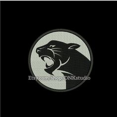 Panther Embroidery Design  This design manually made by hand, from start to finish. It is a digitized embroidery design for a buyer who has an embroidery sewing machine.  https://www.etsy.com/listing/487633052/panther-embroidery-design-6-sizes  #stitch #digitized #Sewing #Needlecraft #stitches #Embroidery#Applique #EmbroideryDesign #pattern #MachineEmbroidery #Panther #animal #tiger