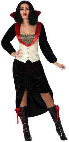 Disfraz de condesa vampira mujer : Vegaoo, compra de Disfraces adultos. Disponible en www.vegaoo.es