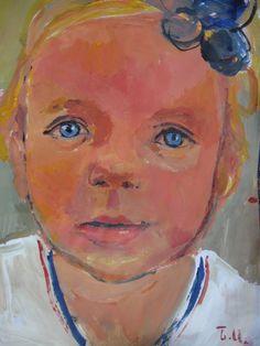 Portrait-portrait of children series Paintings, Fine Art, Portrait, Children, Young Children, Boys, Paint, Headshot Photography, Painting Art
