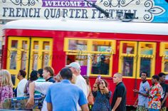 New Orleans Street Cars.  Historical and modern all at the same time